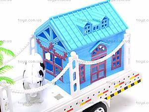 Трейлер с трактором, 2011-8, магазин игрушек