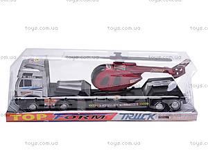 Трейлер с вертолетиком, 5359, детские игрушки