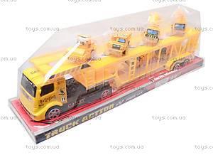 Трейлер со строительными машинами, MS8822-2