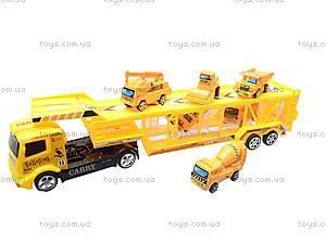 Трейлер со строительными машинами, MS8822-2, фото