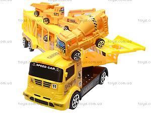 Трейлер со строительными машинами, MS8822-2, цена
