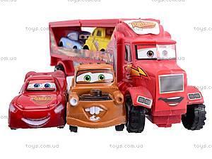 Трейлер «Тачки», 807-2, детские игрушки