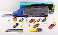 Трейлер игрушечный и 6 машинок, SC6570, купить