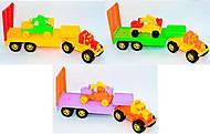 Трейлер игрушечный«Трак», 5162, детские игрушки