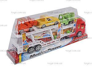 Набор из трейлера и машинок, 921-5, магазин игрушек