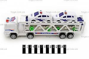 Игрушечный трейлер с машинами, 006A-7