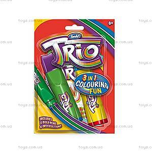 Набор фломастеров Trio Pens, TR2004UK(UA)