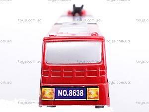 Троллейбус инерционный игрушечный, 8638, купить