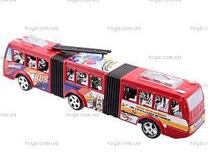 Троллейбус инерционный игрушечный, 8638, отзывы