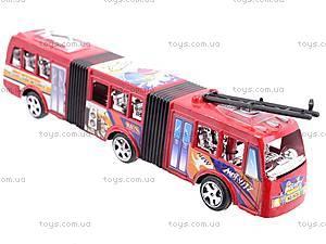 Троллейбус инерционный игрушечный, 8638, игрушки