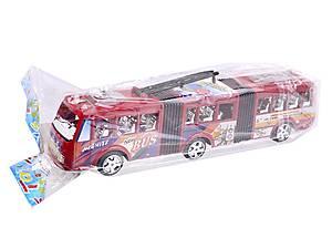 Троллейбус инерционный игрушечный, 8638