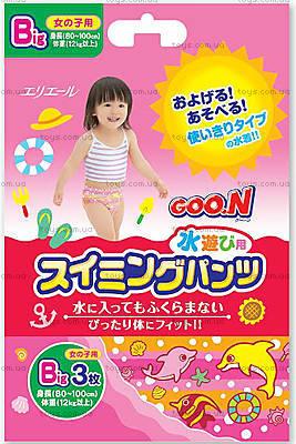 Трусики-подгузники для плавания Goo.N, для девочек от 12 кг, 753647