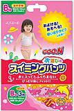 Трусики-подгузники для плавания Goo.N, для девочек от 12 кг, 753647, купить