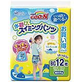 Трусики-подгузники для плавания GOO.N для мальчиков 12-20 кг, 853667, игрушки