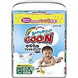 Трусики-подгузники GOO.N для активных детей 5-9 кг, 753710, цена