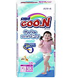 Трусики-подгузники для девочек GOO.N, 12-20 кг, 753715
