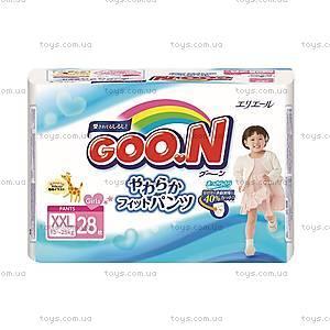 Трусики-подгузники GOO.N для девочек, 13-25 кг, 753717