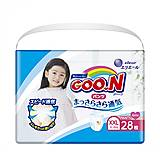 Трусики-подгузники GOO.N для девочек (XXL, 13-25 кг), 853885, цена