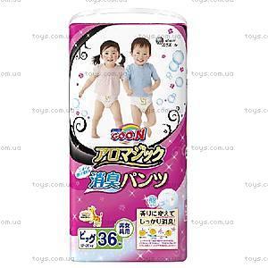 Трусики-подгузники GOO.N серии AROMAGIC для детей 12-20 кг, 853040