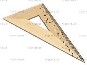 Деревянный треугольник, 16 см, 103020, купить