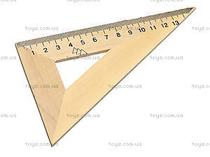 Деревянный треугольник, 16 см, 103020, фото