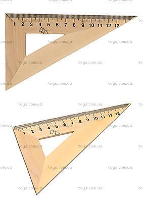 Деревянный треугольник, 16 см, 103020