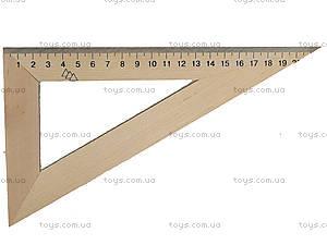 Треугольник деревянный, 22 см, 103019, цена