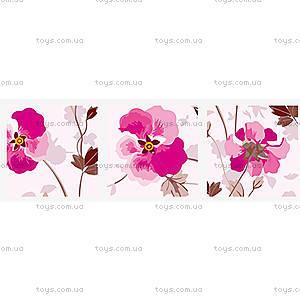 Триптих «Розовые цветы», MT3072