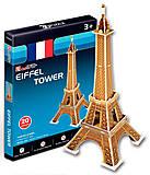 Трехмернаямодель-конструктор«Эйфелева башня» серия мини, S3006h, купить
