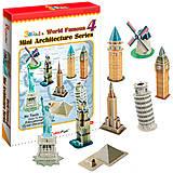 Трехмерная головоломка-конструктор «Архитектура мира. Серия 4», C102h-2, купить