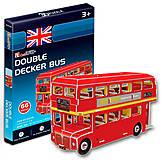 Трехмерная головоломка-конструктор «Автобус Дабл Декер» серия мини, S3018h, купить