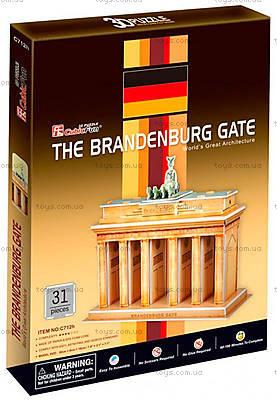 Трехмерная головоломка-конструктор «Бранденбургские ворота», C712h, отзывы