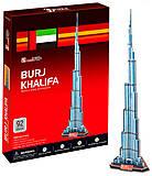 Трехмерная головоломка-конструктор «Бурдж-Халифа», C151h, интернет магазин22 игрушки Украина