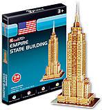 Трехмерная головоломка «Эмпайр Стейт Билдинг» серия мини, S3003h, фото