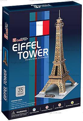 Трехмерная модельCubicFun «Эйфелева башня», C044h, цена