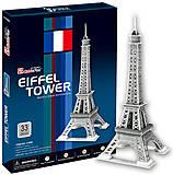 Трехмерная головоломка-конструктор «Эйфелева башня» №2, C705h, фото