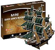 Объемная головоломка серия мини «Корабль Месть королевы Анны», S3031h, отзывы
