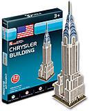 Трехмерная головоломка-конструктор «Крайслер-билдинг», серия мини, S3013h, купить