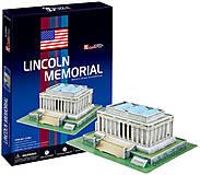 Трехмерная головоломка-конструктор «Мемориал Линкольна», C104h