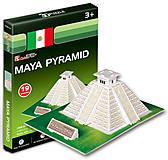 Трехмерная головоломка-конструктор «Пирамиды Майя», S3011h