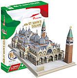 Трехмерная головоломка «Площадь Святого Марка», MC209h, купить