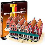Трехмерная головоломка-конструктор «Рыночная площадь в Брюгге», C182h