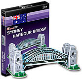 Трехмерный конструктор головоломка «Мост Харбор-Бридж», S3002h, отзывы