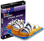 Трехмерная головоломка «Сиднейский Оперный Театр» серия мини, S3001h, купить