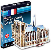 Трехмерный конструктор-головоломка «Собор Парижской Богоматери» серия мини, S3012h