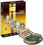 Трехмерная головоломка «Собор Святого Петра», C718h, купить