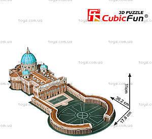 Трехмерная головоломка «Собор Святого Петра», C718h, фото