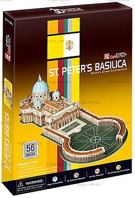 Трехмерная головоломка «Собор Святого Петра», C718h, цена