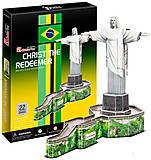 Трехмерная головоломка-конструктор «Статуя Христа-Искупителя», C187h, купить