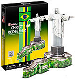 Трехмерная головоломка-конструктор «Статуя Христа-Искупителя», C187h, фото